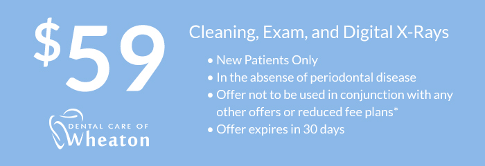 cleaning exam and digital xray coupon